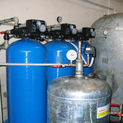 Stacja uzdatniania i odżelaziania wody - kurniki okolice Gliwic